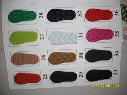 EVA met Patroon voor de Matten van de Zool en van de Vloer van de Schoen
