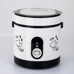 Schwarzer Farben-mini beweglicher Arbeitsweg-elektrischer Reis-Kocher