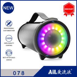 2021 컬러풀한 LED 조명이 있는 새롭게 선보이는 휴대용 실외 Bluetooth 스피커