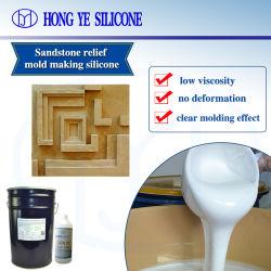 Curado de estaño caucho de silicona para la fundición de piedra artificial