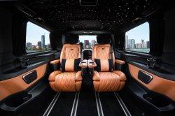 سيارة فخمة ومميزة، سيارة/حافلة ركاب/فئة S، شاحنة/مقعد من الجلد، لتحويل السيارة/السيارة من فئة مرسيدس بنز فيتو/V-Class/Metris/SpPrinter، مقاعد كهربائية طراز W447