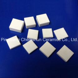 Folha de cerâmica de alumina quadrados como revestimento em cerâmica resistente ao desgaste