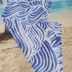 منشفة شاطئ من ألياف الجلد من الألياف الدقيقة والبوليستر بنسبة 100%