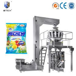 기계 단것 설탕 주머니 패킹 기계장치를 무겁게 하는 가득 차있는 자동적인 사탕