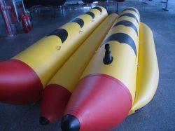 Opblaasbare 6 Persoon 2 de Boot van de Banaan van Buizen