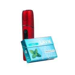 Lavie Tee-Heizungs-Kassette keine Nikotin-gesunde reale rauchende Gefühls-Minze und orange Aroma-Wärme-nicht Brandwunde-Zigaretten-Alternativen