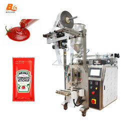 A BG Pequena Mel Automático/ Ketchup /Jam /Sauce/Detergentes/óleo/líquido/Fluido de Lavagem das Mãos /Desinfetante Cola Bag sachê de máquina de enchimento de Embalagem Embalagens