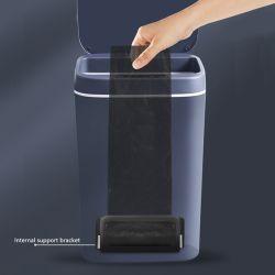 Nouveau plastique ménage Smart Rechargeable créatrice de sourdine automatique du capteur de la corbeille