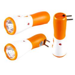 Yichen Classic AC مصابيح LED بلاستيكية قابلة لإعادة الشحن مصباح كشاف ووميض