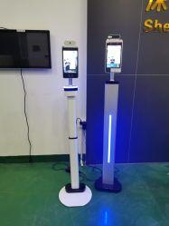 Gesichts-Anerkennungs-Kamera-intelligente Zugriffssteuerung 8 Zollai-Touceless mit Thermometern Digital für Krankenhaus /School /Metro