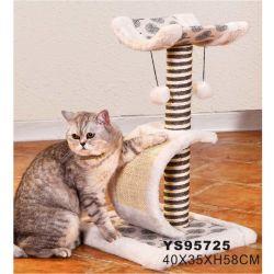 صنع في الصين تصميم جديد Cat Tree شجرة الخدوش