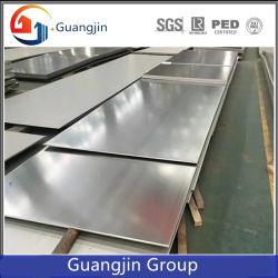تصنيع الصين 304/316L/201/430/420 2b/BA HL/hairline، 8K SS من الفولاذ المقاوم للصدأ لوحة/ورقة لمواد البناء مع EXW