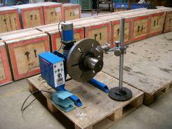 Plataforma giratória de soldagem 100kg / posicionador de soldagem