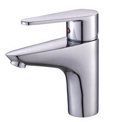 OudinuoのクロムによってめっきされるOdn-674シリーズの単一のハンドルの洗面器の蛇口及びコックの&Bibcock