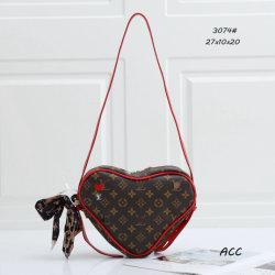 2020ハート形のFemale Bag PU Handbags Party Bag、LadiesのためのWomen Cute Chain Crossbody Handbag Fashion Bags Lovely Women Hand BagsのためのNew Shoulder Bags