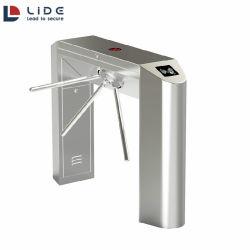 Biometrische RFID Access Control Tripod Turnstyle Waist Height Turnstyle voor Bouwplaats