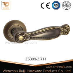 Классический цинк защелки оборудование для записи ручки двери салона (Z6309-ZR11)