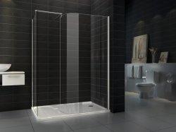 El Polígono el cuarto de baño 8mm de pared en receptáculo de ducha