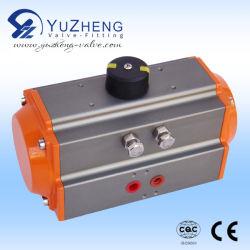 Pneumatische Actuator van het Roestvrij staal van de industrie met Dubbelwerkend
