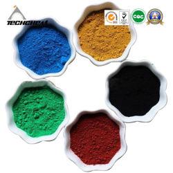 Rood, Geel, Oranje, Groen, Blauw Ijzeroxide Voor Schilderen En Inkt