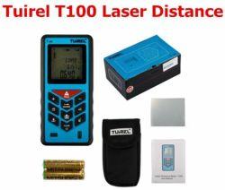 Telemetro tenuto in mano del tester di distanza del laser di Tuirel T100