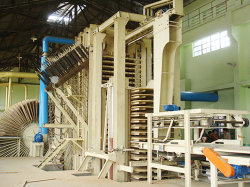 30000cbm automatique des panneaux à copeaux orientés (OSB) Ligne de Production de Machines à bois
