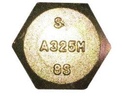 La norme ASTM A325m les vis de structure hexagonale lourd/acier inoxydable en acier au carbone