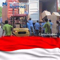Китай верхней части Экспедитор доставки в Индонезии в Джакарте/Belawan/Семаранг