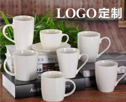 Logotipo Customizd taza de café de cerámica Taza de porcelana promoción regalos con precios baratos