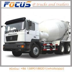 Хорошее соотношение цена 30MT 8 куб бетона Capaccity смешайте погрузчика / танкера заслонки смешения воздушных потоков для строительной промышленности