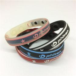 Sy01-01-008 Armband Van uitstekende kwaliteit van de Energie van het Silicone van het Titanium de Rubber