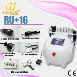 Guangzhou Chinloo cavitação ultra-sónico Multifuncional laser RF Equipamento Beleza emagrecimento (RU+16)