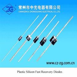 Diodi veloci di ripristino del silicone di plastica
