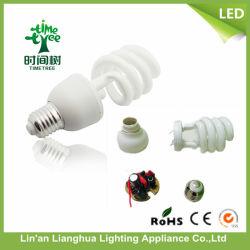 U-Form/beinahe Spirale/voll Spirale/energiesparende Lampe des Lotos-3000h-8000h, CFL Rohstoff