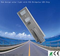 IP65 30 W All-in-One-LED-Leuchte integriertes Solar-Straßenlicht