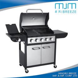 Commerce de gros cuisine extérieure, barbecue, de gaz Barbecue à gaz avec 6 brûleurs
