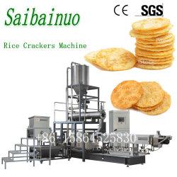 Sin Gluten galletas de arroz de la máquina