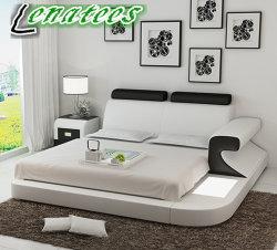 Lb8809 Fancy lit Chambre à coucher Mobilier de style défini