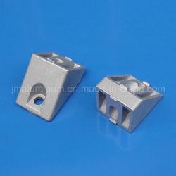 Connecteur de l'angle de 40, 45 degrés; zinc moulé