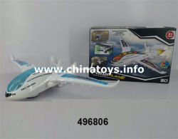 Venta caliente el producto B/o avión de juguete con música&Luz juguete (496806)