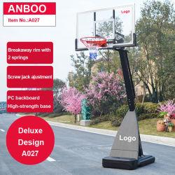 Indoor&Outdoorのポータブルの調節可能な高さのバスケットボールたがの立場