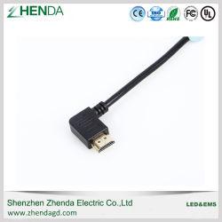 HDMI alla versione 3D 4K del cavo HDMI 1.4 di HDMI per il collegare 1m 2m del calcolatore del proiettore dell'affissione a cristalli liquidi di HDTV 3m 5m