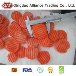 Haut de la qualité de l'exportation des bandes de carottes surgelés
