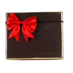 Эластичные красный подарок атласная лента лук для оптовых (CBB-2113)