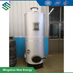 Caldera de Gas vertical para calentar agua en la planta de biogás
