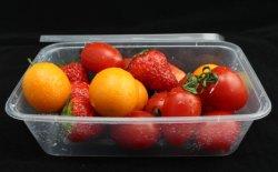 Recipiente de alimentos takeaway descartáveis de plástico transparente de promoção do recipiente de alimentos