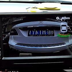 Câmara de marcha do carro de Montagem do Kit de sensores de auxílio ao estacionamento