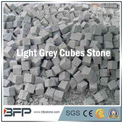 Природные G654/G603/G684/G682 Серый базальт черный гранит Cube/вымощены булыжником/ асфальтирование камня