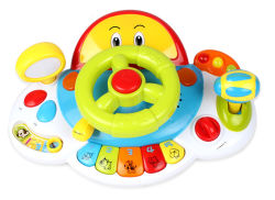 La novità scherza il giocattolo di plastica di musica di B/O del giocattolo dello strumento di musica (H0037148)