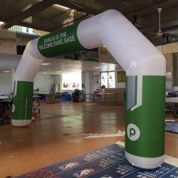 Пользовательский размер надувной колесной арки для выездных мероприятий реклама